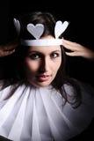 Hearts queen Stock Photos