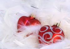 hearts red Στοκ φωτογραφία με δικαίωμα ελεύθερης χρήσης