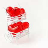 Hearts for sale. Royalty Free Stock Photo