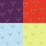 Hearts. Seamless Royalty Free Stock Photography