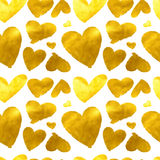 Hearts. Seamless abstract pattern. Stock Photo