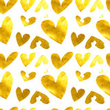 Hearts. Seamless abstract pattern. Royalty Free Stock Photography