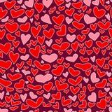 Hearts seamless Stock Photography