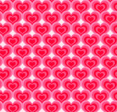 Hearts seamless pattern Royalty Free Stock Photo