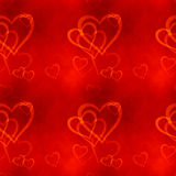 Hearts Seamless Pattern Royalty Free Stock Photos