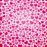 Hearts seamless pattern. Vector seamless pattern with hearts Royalty Free Stock Images