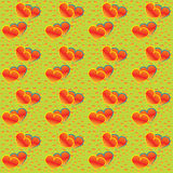 Hearts seamless pattern Royalty Free Stock Photography