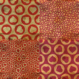 Hearts. Seamless pattern. Royalty Free Stock Images