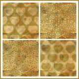 Hearts. Seamless pattern. Stock Image