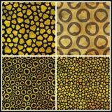 Hearts. Seamless pattern. Stock Photography