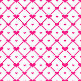 Hearts Seamless Pattern background Royalty Free Stock Photo