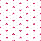 Hearts seamless pattern. Colorful pink hearts. Love. Valentine`s Stock Photo
