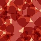 Hearts seamless pattern stock photos