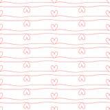 Valentines Day seamless pattern vector illustration
