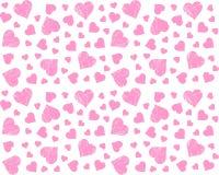 Hearts Seamless Patterns VIntage Cute Vectors Royalty Free Stock Photo