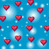 Hearts seamless Tile vector illustration