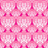 Hearts Seamless Wallpaper Background Tile Stock Photo