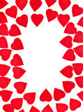 Hearts shape Royalty Free Stock Images