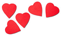 Hearts shape Stock Photography