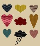 Hearts shape Stock Photo