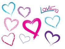 Hearts shapes Royalty Free Stock Photo