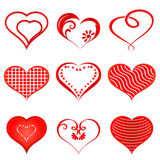 Hearts shapes Royalty Free Stock Photography