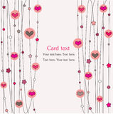 Hearts and stars Stock Photo