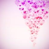 Hearts stream Stock Photo