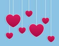 Hearts Strings Stock Photo