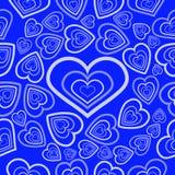 Hearts symbol  geometry  pattern  seamless Royalty Free Stock Photography