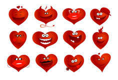 Hearts symbols. Stock Photography