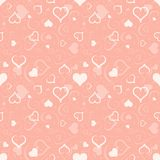 Hearts Texture Stock Photo