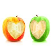 hearts twin Στοκ εικόνα με δικαίωμα ελεύθερης χρήσης