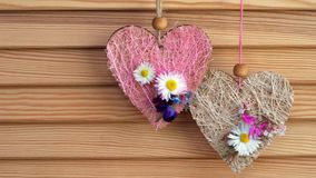 Hearts stock footage