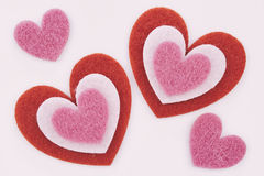 Hearts for Valentine Royalty Free Stock Images