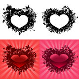 Hearts for Valentine's Day Stock Images