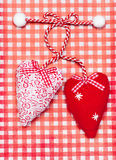 Hearts for Valentine\'s day Stock Photography