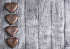 Hearts for Valentine's Day Royalty Free Stock Photography