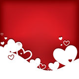 Hearts. Valentine S Day Card Stock Image