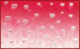 Hearts Valentines day Design Royalty Free Stock Images