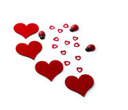 Hearts for Valentines Day Royalty Free Stock Photography