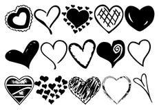 Hearts vector Stock Photos