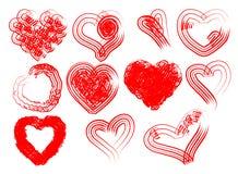 Hearts vector Stock Photo