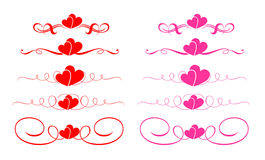 Free Hearts Vector Royalty Free Stock Photos - 4567708
