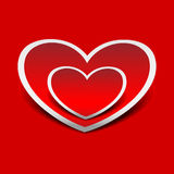Hearts. Vector illustration Stock Images