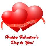 Hearts. Vector illustration. Stock Photography