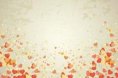 Hearts vintage Stock Image