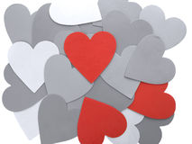Hearts wallpaper Royalty Free Stock Photo