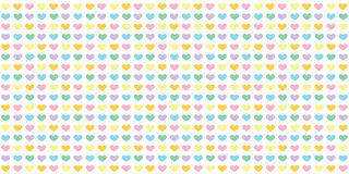 Hearts Wallpaper Royalty Free Stock Images