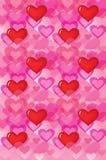 Hearts_wallpaper D Royalty-vrije Stock Foto's